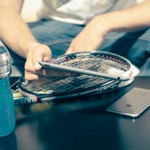 2.Squash Racquet Restringing